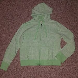 Zip up - size large